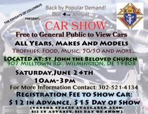 Wilmington Delaware car show