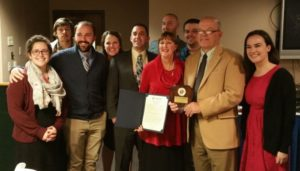 SJB KofC Family of the Year 2018: Bruce and Judy Aungst Family